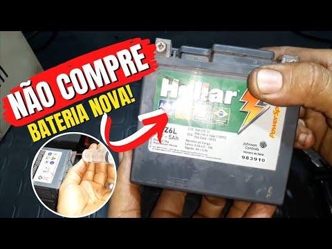 Como Recuperar Bateria  Blindada! Reativando a Bateria e Funcionando Moto na Partida!