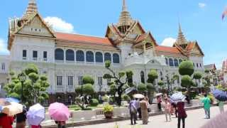 Wat Phra Kaeo And Grand Palace - Bangkok City April 2013