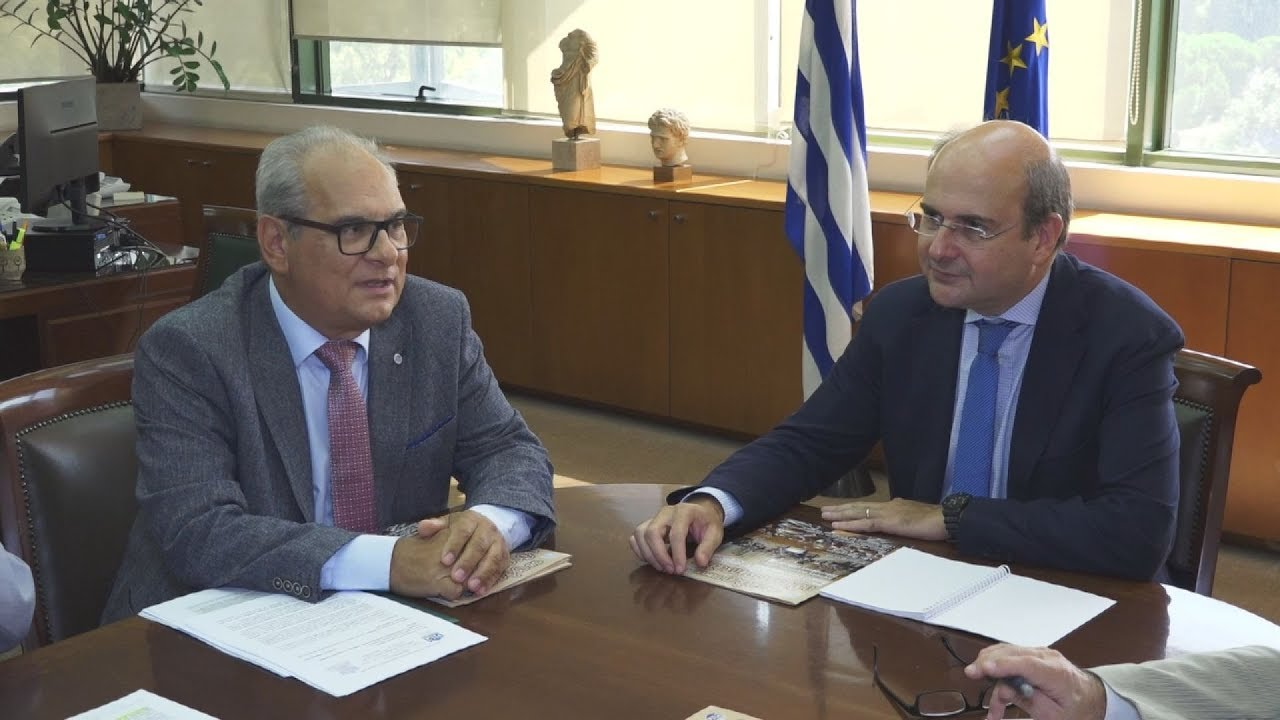 Συνάντηση Κ.  Χατζηδάκη με το προεδρείο της ΠΟΜΙΔΑ με τον ΥΠΕΝ