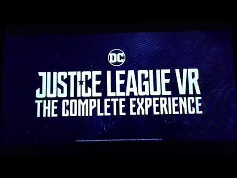 Opening To Justice League 2018 Blu-Ray