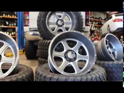 A Monster Ford Ranger fitted with 20x12 Hostile Exile l Stylish Wheels