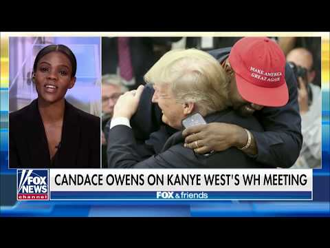 Candace Owens Rips Media's 'Absolutely Despicable' Coverage of Trump-Kanye Meeting