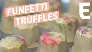 Making Funfetti Truffles at NYC's Mini Melanie by Eater