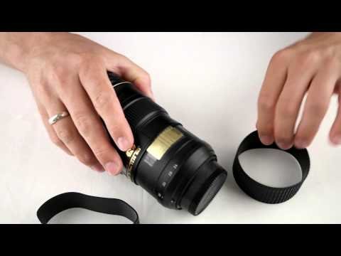 Exchanging the rubber ring on a Nikkor 24-70mm f2.8 lens