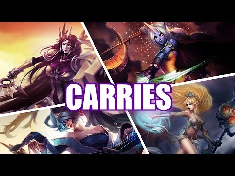 『Carries』 Royals League of Legends Parody (видео)