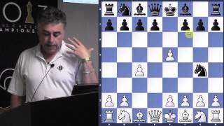 Lecture with GM Yasser Seirawan (Exploring d4 | Budapest Gambit) - 2013.07.17