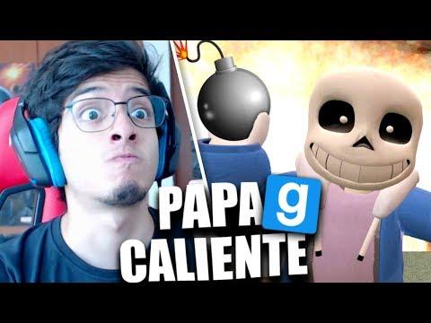 SANS y LA PAPA CALIENTE EXPLOSIVA! (Gmod con Amigos) (видео)