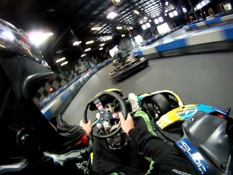 gokart - This is a RPM Raceway in Sacramento. These carts are really fast indoor go karts and they are so much fun. This is my buddy jeff hopkins lapping everyone. He...