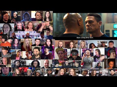 Fast & Furious 9 Trailer Reaction Mashup