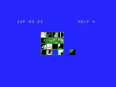 Picture Puzzle (1983, MSX, HAL Laboratory)