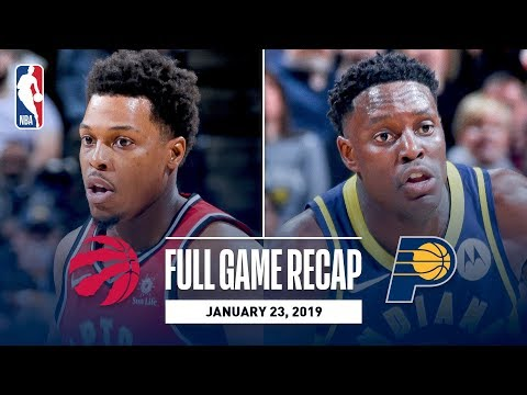 Video: Full Game Recap: Raptors vs Pacers | Toronto & Indiana Go Down To The Wire
