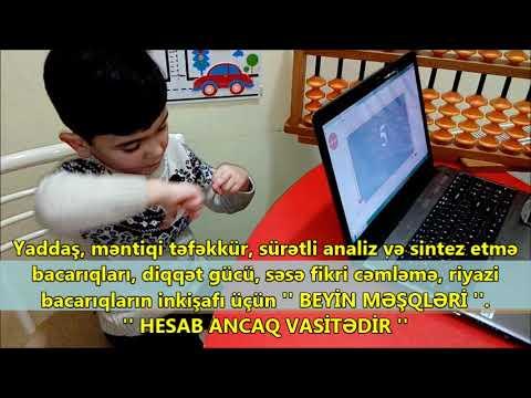 QEYRİ- ADİ HESAB Məktəbəqədər Hazırlıq qrupu...