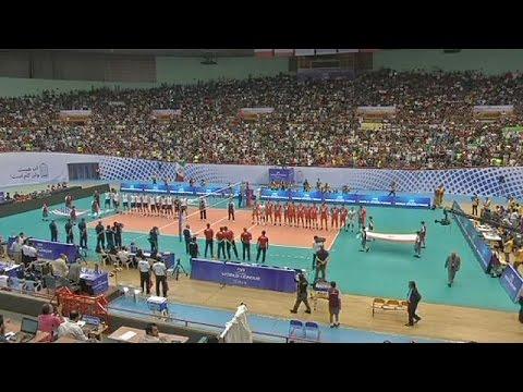 Ιράν: Χωρίς Ιρανές φιλάθλους η νίκη 3-0 της εθνικής βόλει ανδρών επί των ΗΠΑ!