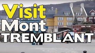 Mont-Tremblant (QC) Canada  city photo : Visite touristique du village Mont Tremblant Quebec Canada