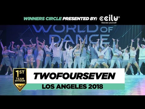 TwoFourSeven  1st Place Team Division  Winners Circle  World of Dance Los Angeles 2018