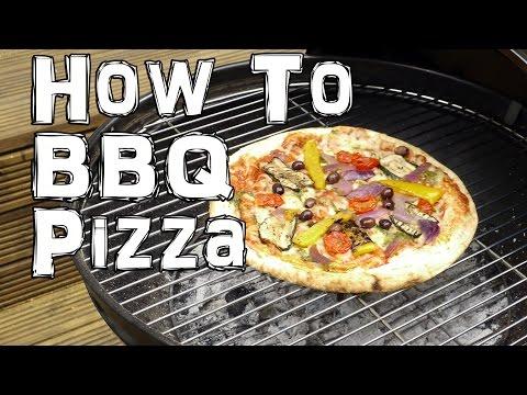 ¿Cómo hacer una pizza en el asador?