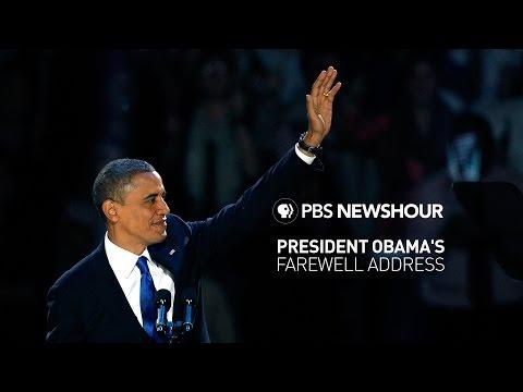 Watch Live: President Obama's farewell address