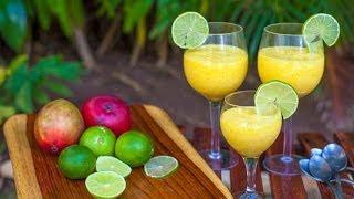 Mousse cremoso de mango