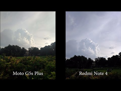 Moto G5s Plus vs Redmi Note 4 Camera Comparison