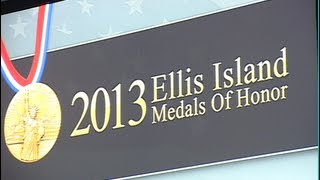 Ellis Island Medal of Honor awarded to nine Armenians, 2013
