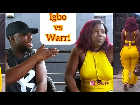 Igbo Babe Vs Warri Guy: By Kcbrown Kingsley Oghwe  With Mercy Johnson Look Alike Ft Jennifer Opoke..