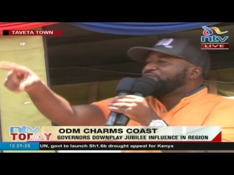 LIVE: ODM governors launch charm offensive at the Coast (видео)