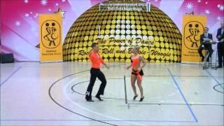 Ayline Spielmann & Philipp Sauter - Landesmeisterschaft Hessen 2013-14