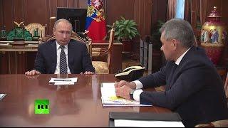 Путин заявил о сокращении российского военного присутствия в Сирии