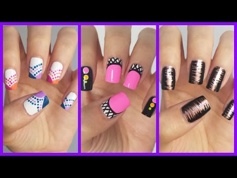 Nail - Want more easy nail art for beginners? Check out the official playlist! http://www.youtube.com/playlist?list=PLoGiIe4TxmPR2XBcFNHpGUInxzgc2S_I0 Nail Stripers...