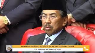 Video Undang-undang pelantikan Ketua Menteri Sabah MP3, 3GP, MP4, WEBM, AVI, FLV April 2019