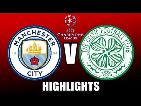 Man City v Celtic (1-1) (6/12/16) Highlights (FIFA)