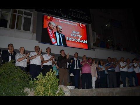 Bor'da Cumhurbaşkanlığı Seçimi Kutlamaları