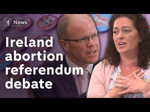 Abortion debate: the Irish referendum discussed and explained (видео)