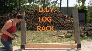 Video DIY Customizable Firewood Rack With The Stack-N-Store Log Rack Brackets MP3, 3GP, MP4, WEBM, AVI, FLV Juli 2018