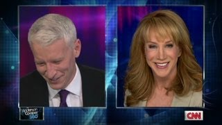 Video Anderson Cooper and Kathy Griffin prepare for NYE show MP3, 3GP, MP4, WEBM, AVI, FLV Januari 2018