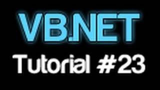 VB.NET Tutorial 23 - Timers (Visual Basic 2008/2010)