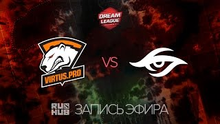 Virtus.Pro vs Secret, DreamLeague Season 7, game 1 [Adekvat, 4ce]