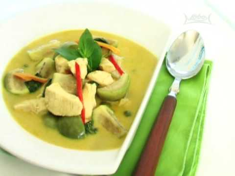 Thai Cooking Recipe: Chicken Green Curry from Lobo (Thai food) www.lobo.co.th