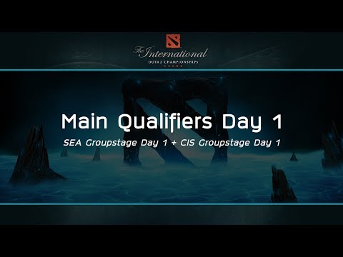 The International 2017 : SEA Main Qualifiers Day 1 - [Thai Caster]