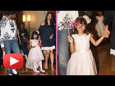 Aaradhya Bachchan's PLAYFUL MOOD With Media On Her