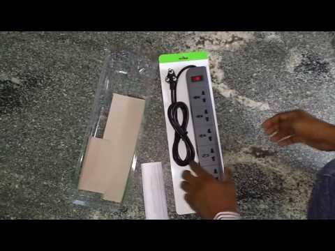 Belkin Essential Series 6-Socket Surge Protector    Unboxing