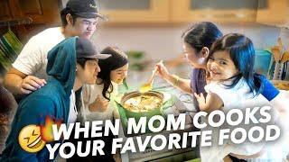 Video When Mom Cooks Favorite Food (We Get Lit!) | Ranz and Niana MP3, 3GP, MP4, WEBM, AVI, FLV September 2018