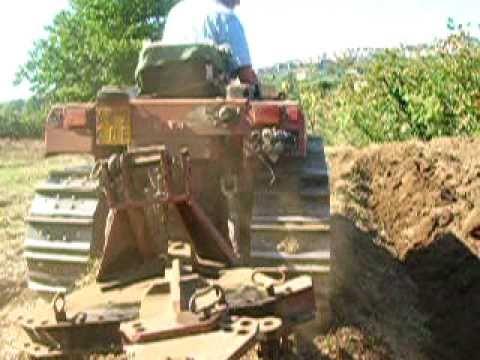 FIAT 72-85 Scasso con aratro fuorisolco SAIMA PAFS55-M42 modificato