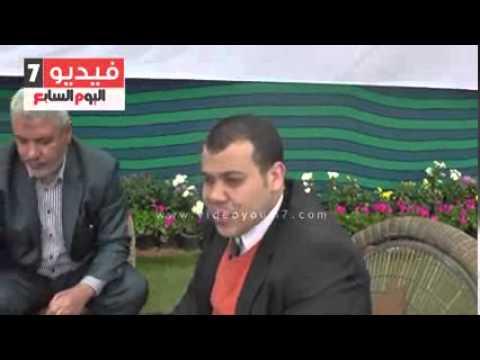 استطلاع راي رئيس مجلس اداره شركة الهدايه سبورت عن معرض الزهور عام 2015