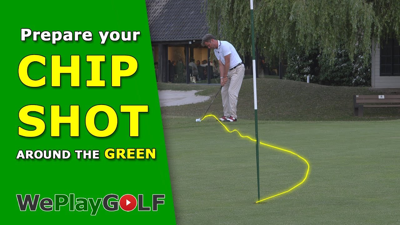 Prepare your chip shot around the green