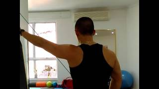 Shoulder range assistance - Pulley