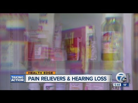 What 6 years of pain relievers might mean for your ears