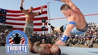 Video John Cena, Batista & Rey Mysterio vs. Randy Orton & Jeri-Show: Tribute to the Troops, Dec. 20, 2008 MP3, 3GP, MP4, WEBM, AVI, FLV Juni 2019
