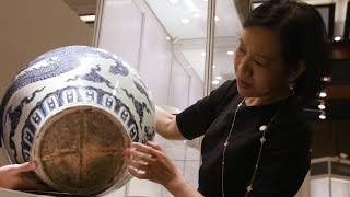 Discovery: The Ming Dynasty 'Dragon' jar that was used as an umbrella stand
