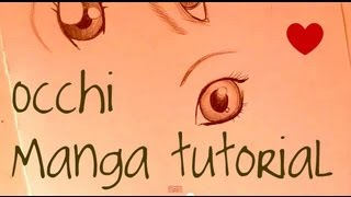 Come DISEGNARE Gli OCCHI Nei MANGA / How To Draw Eyes In Manga Style◕◡◕